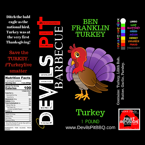 Ben Franklin's Turkey