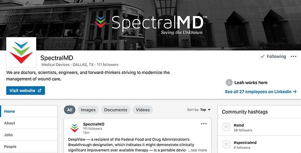 LinkedIn SpectralMD