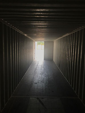 40' used interior double doors one end, 40' used, 40' used container, 40' wwt, buy container in houston