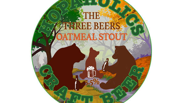 The three beers Oatmeal Stout