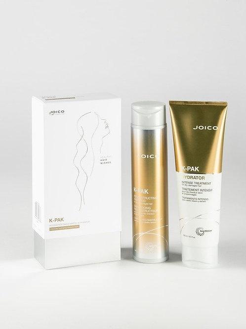 Joico K-Pak Reconstructing Shampoo and Intense Hydrator
