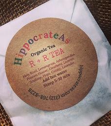 Hippocrateas new moon, organic tea, chicago tea