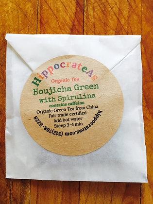 Organic Green Tea with Spirulina