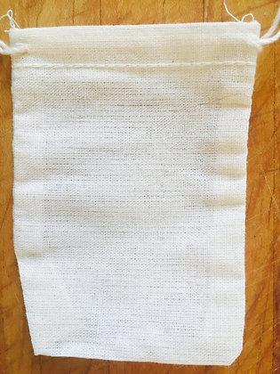 Cotton Muslin Tea Bag unbleached