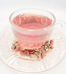 Pink Tea, organic pink tea, chicago tea,organic tea chicago, Hippocrateas