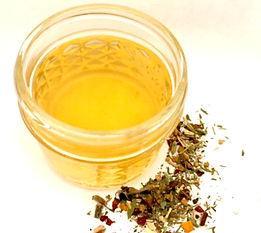 Organic cleansing teas