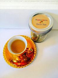 Organic Skin Tea, Organic tea, no GMOs tea, Chicago tea, Clear Skin Tea
