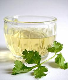 Organic green tea, cilantro tea, spirulina tea, chelating tea, heavy metals tea, heavy metal tea, natural chelation