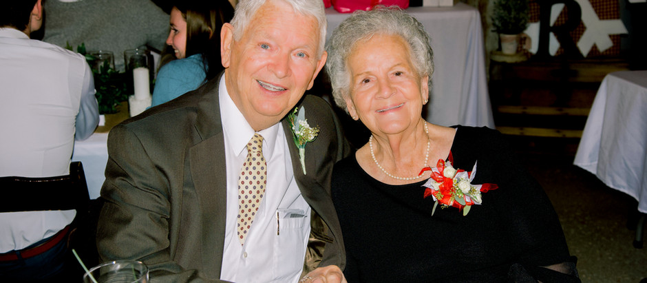 Looking back at 1941- celebrating Kimball and Janet, 80 years young