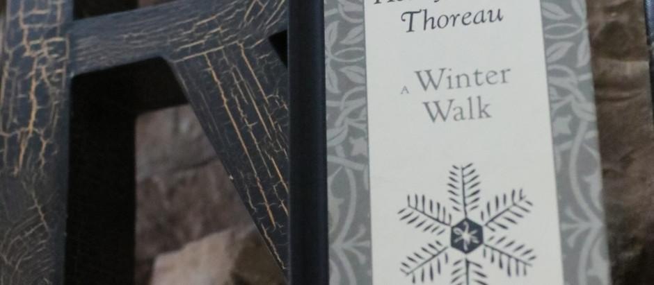 A Winter's Walk with Henry David Thoreau