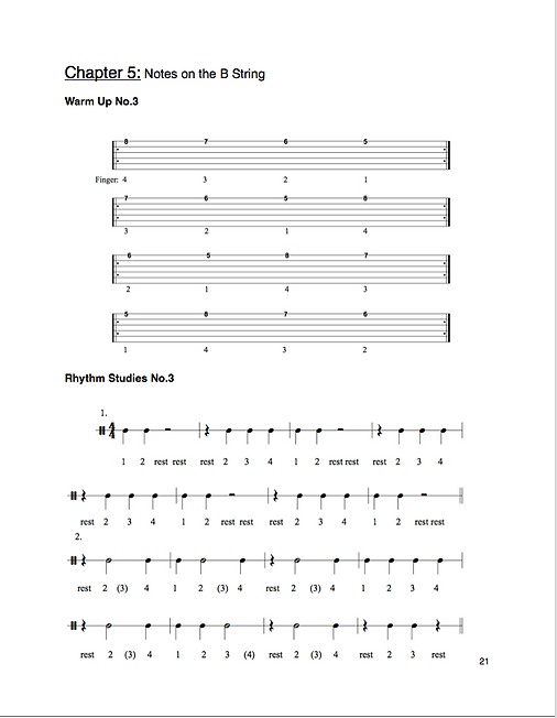 "A sample page from ""A Concise Introduction to Guitar"""