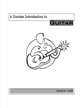 "The cover to ""A Concise Introduction to Guitar"""