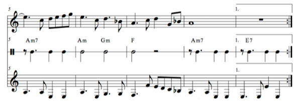 "An excerpt of ""The Sands of Carthage"" from ""A Concise Introduction to Guitar"""