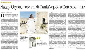 Nataly IL Mattino article
