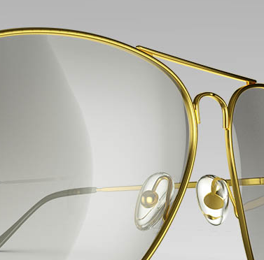 3d visualisation of glasses
