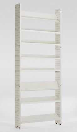 L,Unica 100 metallo bianco - h140 p20