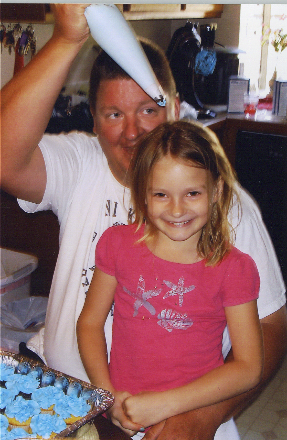 Makenna and her dad, Toby