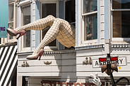Haight and Ashbury is a 10 minutes away!