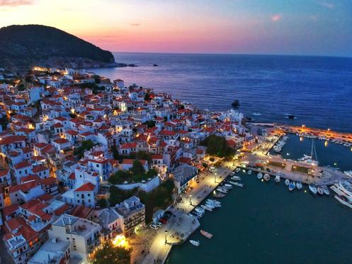 Skopelos the beautiful island