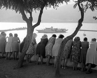Old photo of Skopelos Port