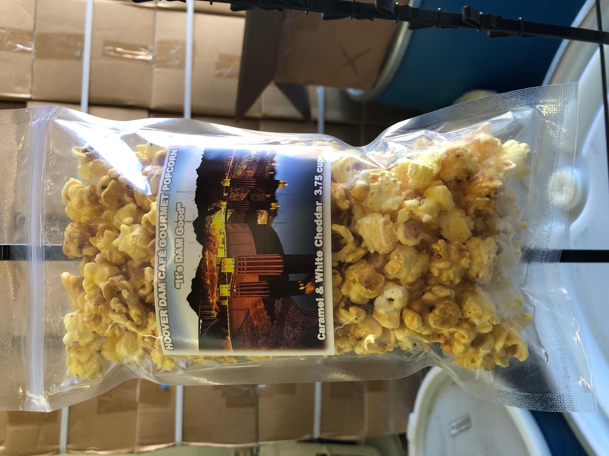 Hoover Dam Cafe' Caramel & White Cheddar