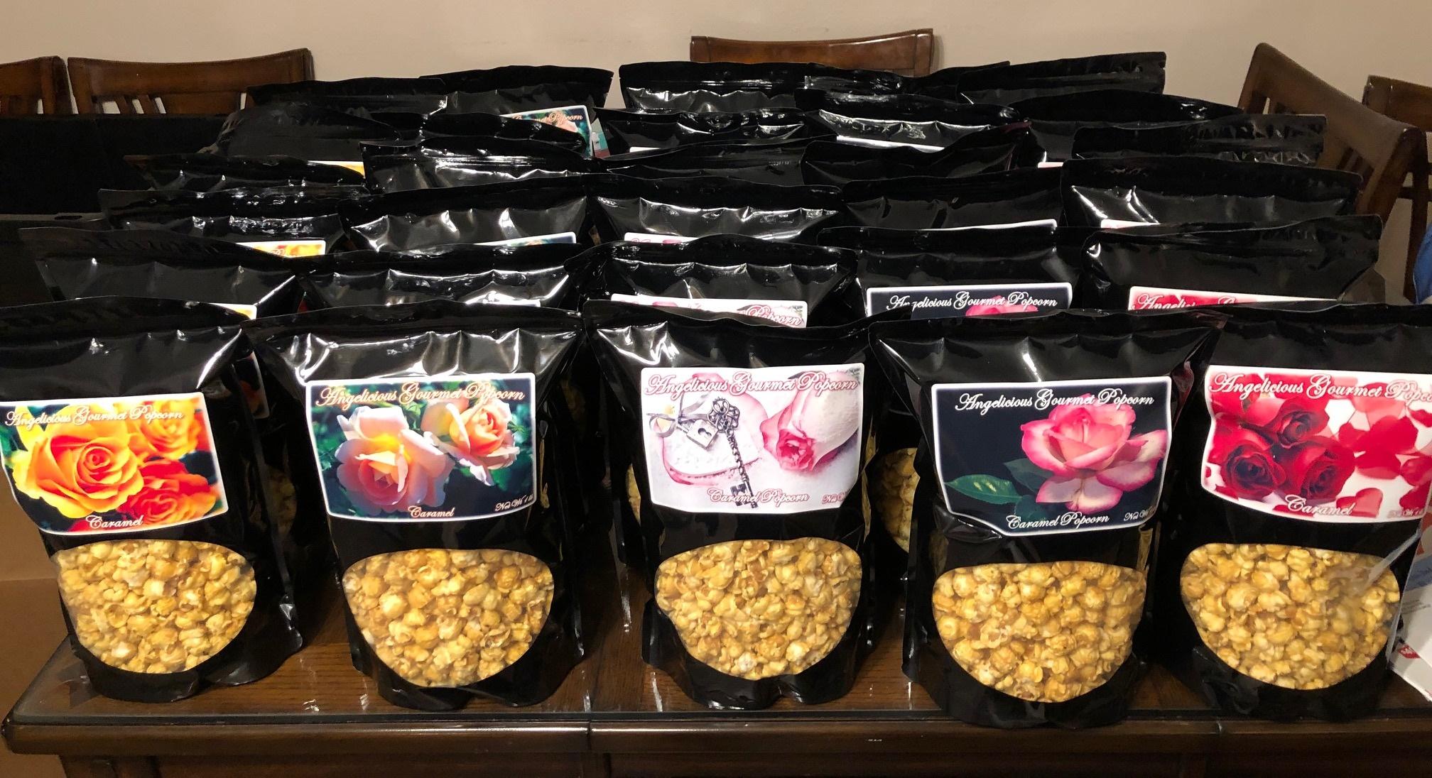Angelicious Gourmet Popcorn Caramel 1 -