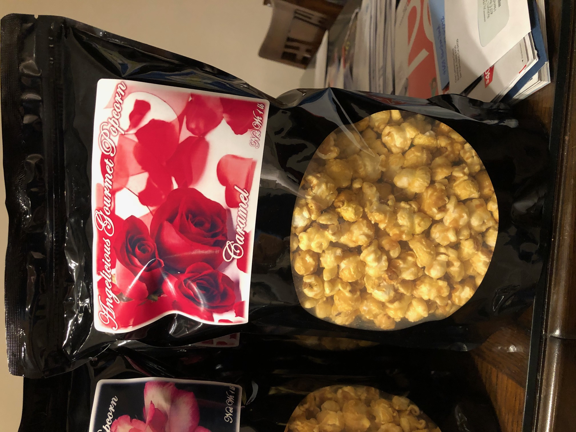 Angelicious Gourmet Popcorn Caramel 5 -