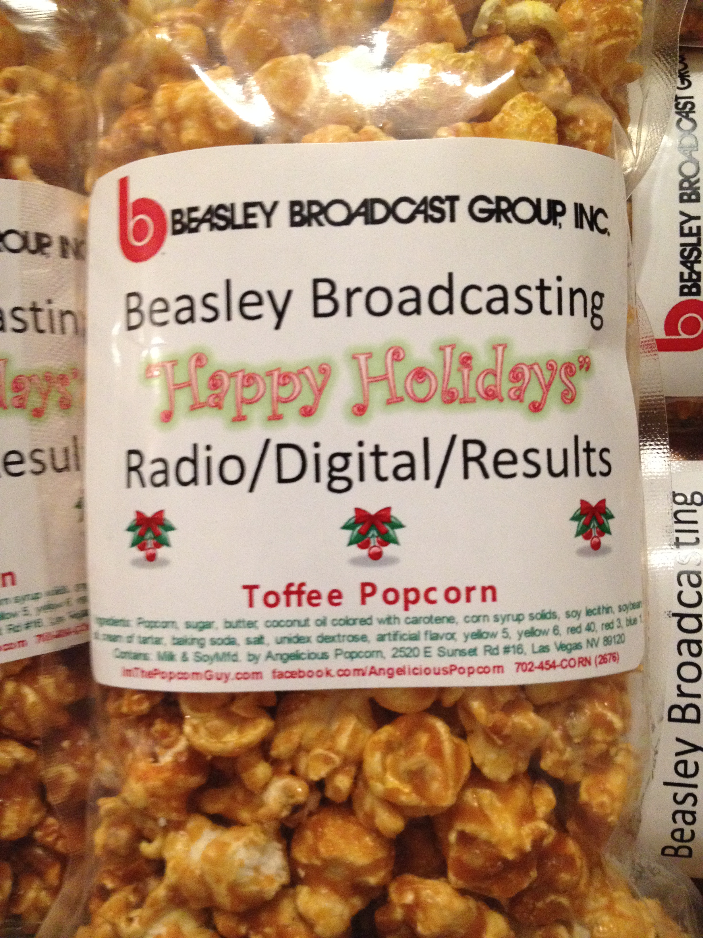 Happy Holidays Beasley Broadcasting 2