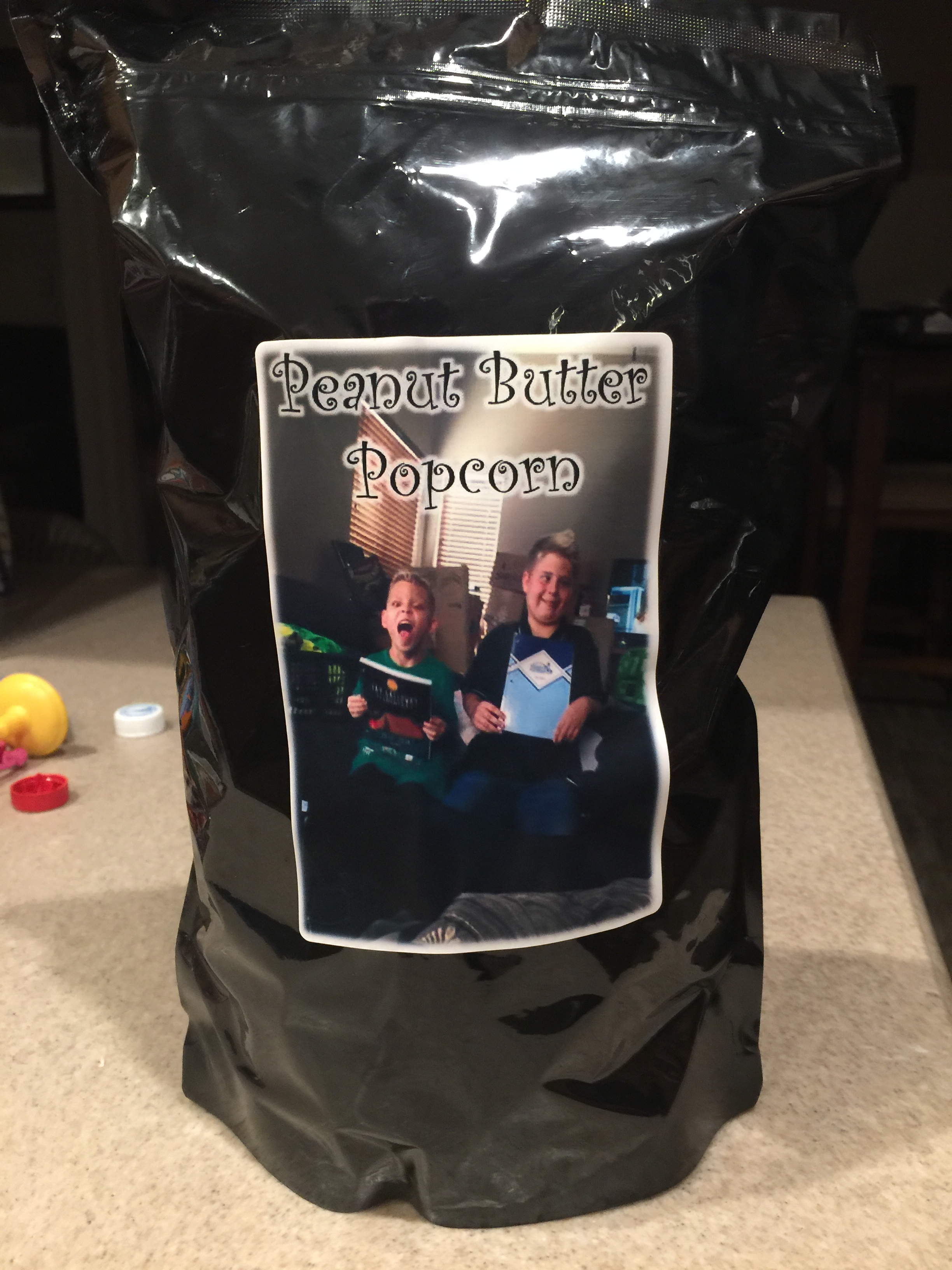 Heather's Popcorn Peanuet Butter