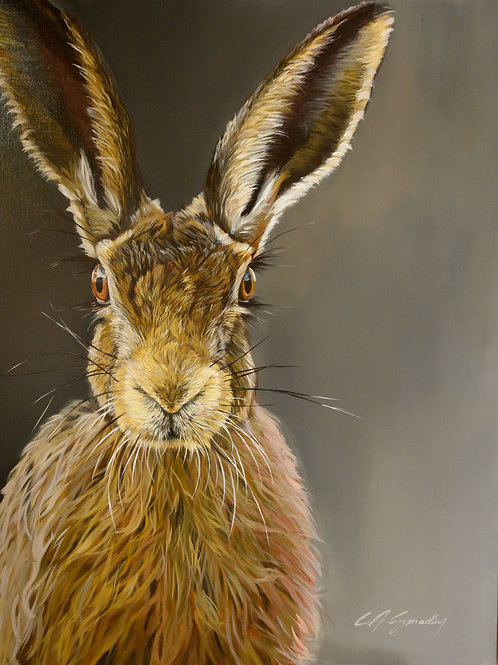 """The Cotswold and The Hare"" ORIGINAL"