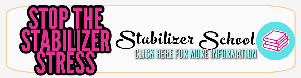 learn machine embroidery stabilizers online