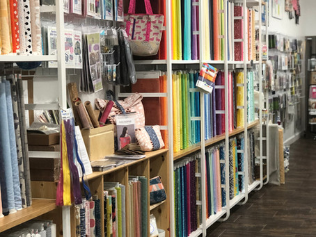 Tough Kitten Crafts Shop Hop: The Modern Sewist in Sarasota, Florida