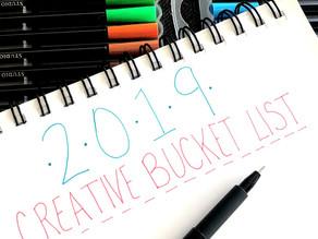 Hello 2019! Write a Creative Bucket List with me!