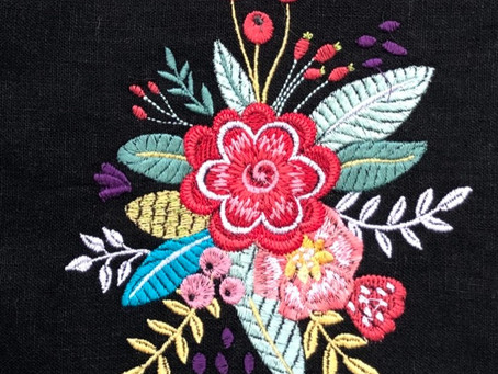 How toMachine Embroider with Aurifil CottonThread