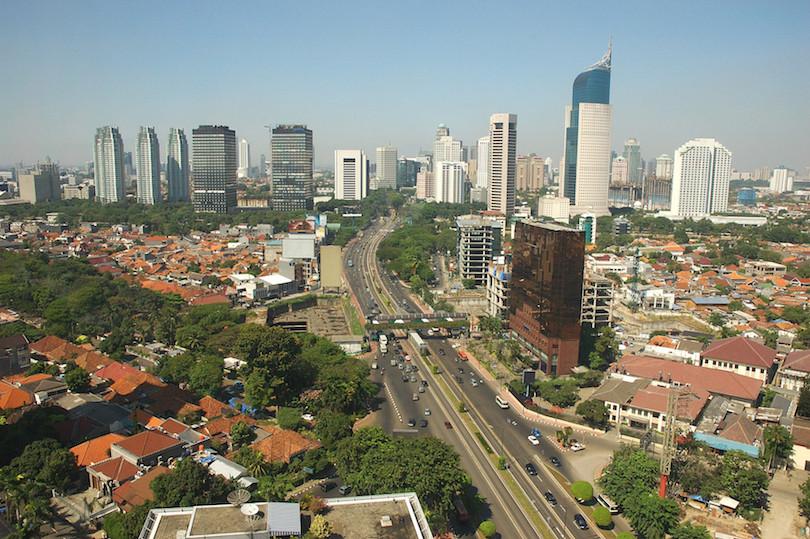 indonesian city