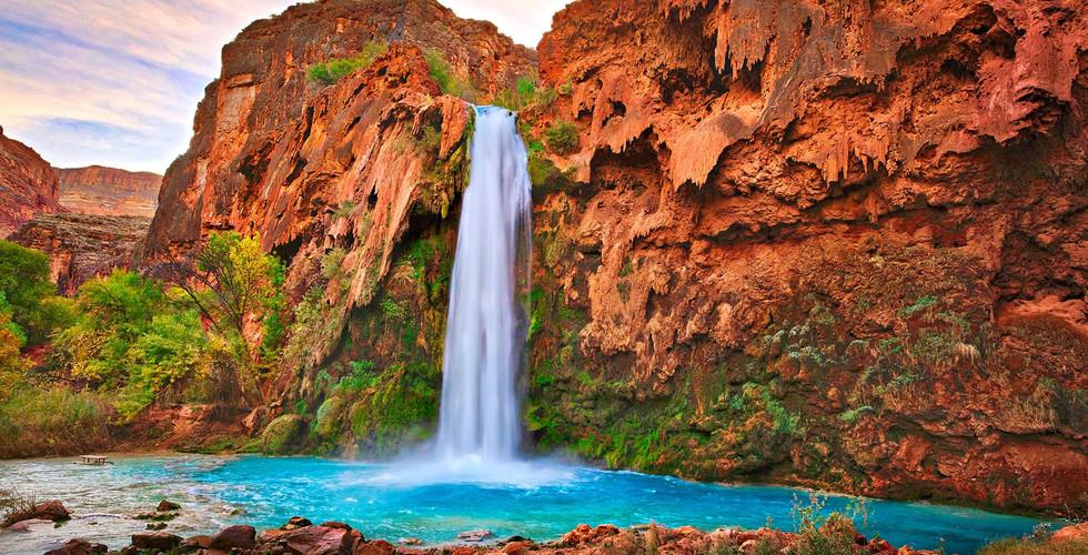 waterfall in arizona