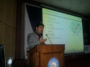 Dr. Zahid Halim at ICET2014