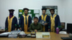 Dr. Zahid Halim and graduate students