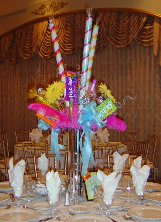 Candy Centerpiece