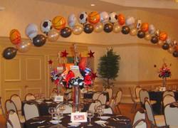 Sport Balloon Arch