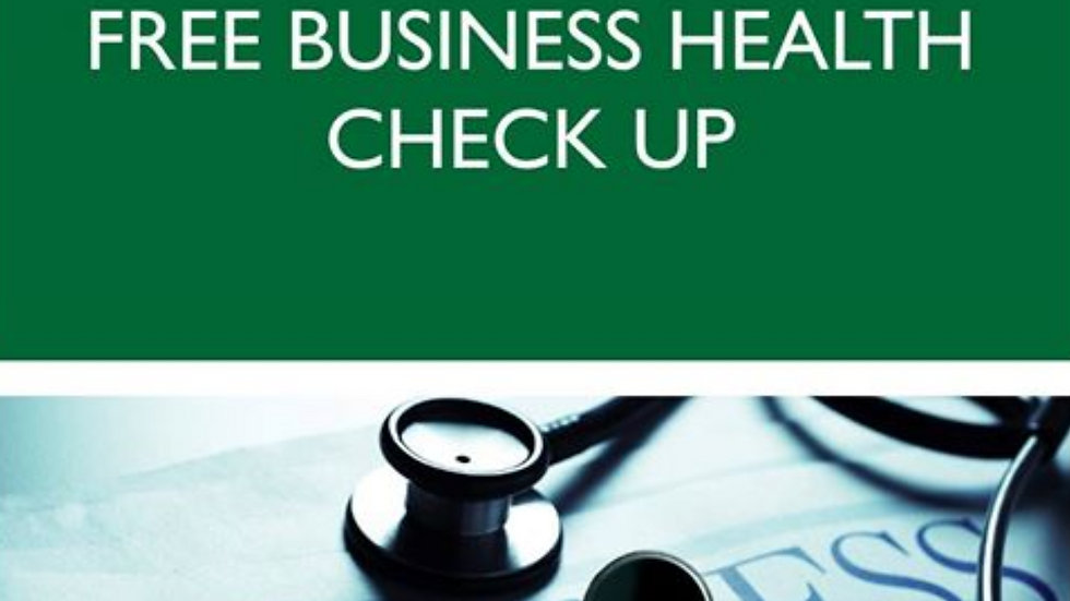 Free business health checkup