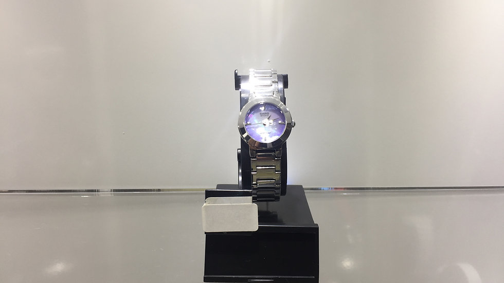 Casio 3-Analog Water Resistant.
