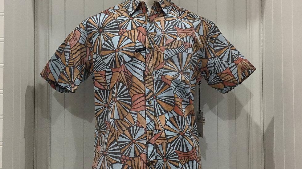 Camisa Billabong VacayStretch, 100% algodón.