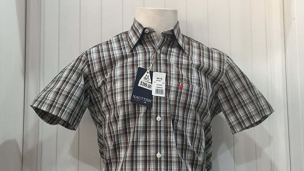 Camisa Nauttish 100% Algodón Talla Chica
