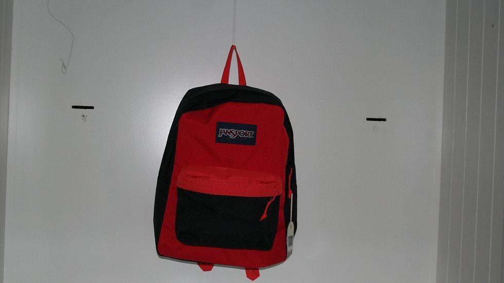 Mochila Jansport Superbreack Red Block25 Litros