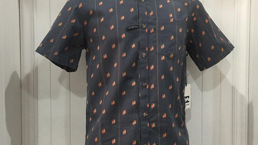 Camisa Billabong Slugo Stretch100% algodón.