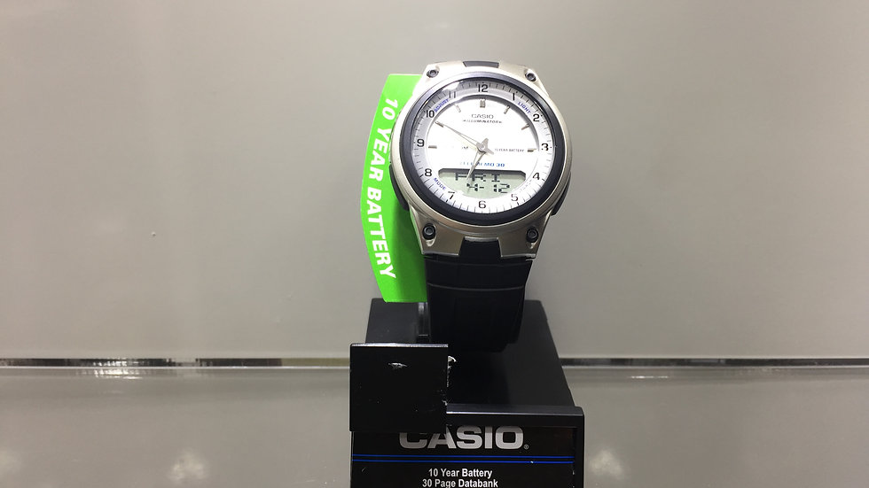Casio 10 Year Battery 30 Page Databank LED Light with Afterglow 50m Water Resist