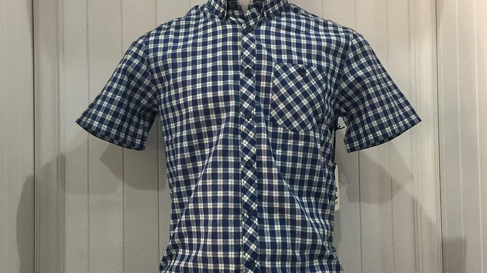 Camisa Billabong Rockwell 35% algodón, 65% poliester.