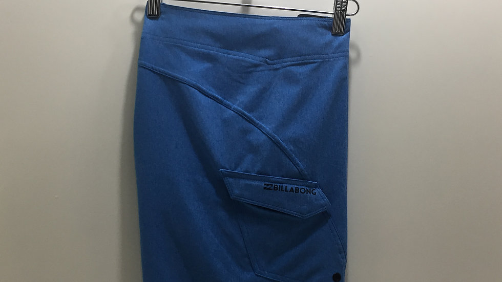 Boardshort Billabong All Day Heather, Stretch, 86% poliester reciclable. 14% ela