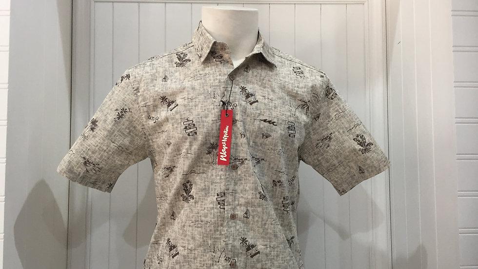 Camisas wave motion 100% Algodón